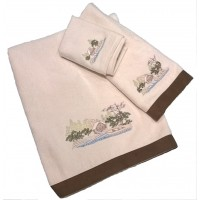 Log Cabin Towels