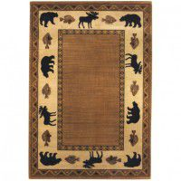 Cabin Retreat Area Rug - Praline -DISCONTINUED