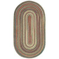 Bear Creek Oval Braided Rugs - Wheat-DISCONTINUED