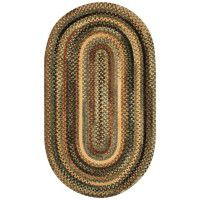 Cambridge Braided Rugs-New Leaf -DISCONTINUED