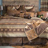 Brown Mustang Comforter Sets - Discontinued