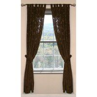 Gold Rush Damask Drapes