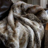 Luxury Chinchilla Throw