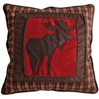 Applique Moose Pillow