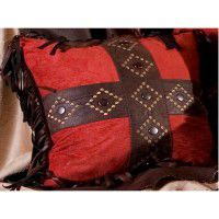 Red Diamond Pillow