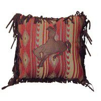 Flying Horse Bronc Pillow