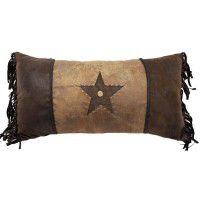 Rivet Star Pillow