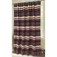 Old West Stripe Shower Curtain