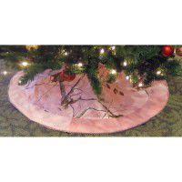 Real Tree Pink Camo Tree Skirt