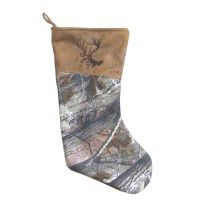 Real Tree Camo Stocking - Buck