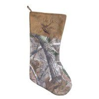 Real Tree Camo Stocking - Elk