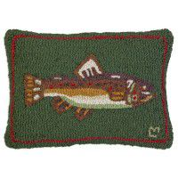 Brown Trout Pillow