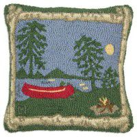 Campfire Pillow