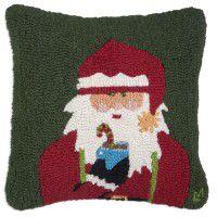 Cheers Santa Pillow