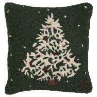Deep Winter Wool Pillow