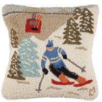 Gondola Run Wool Pillow