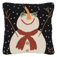 Let it Snow-Man Pillow