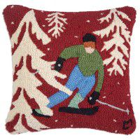 Pick A Line Wool Pillow