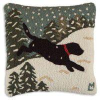 Snow Dog Pillow