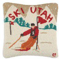 Ski Utah Pillow