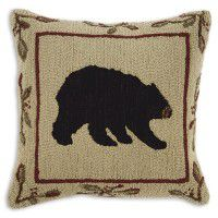 Black Bear Over Size Pillow