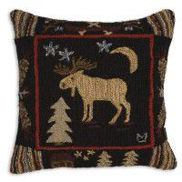 "Night Moose 26"" Pillow"