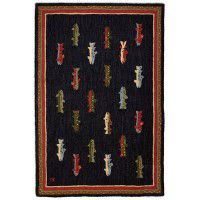 River Fishing 4x6 Rug
