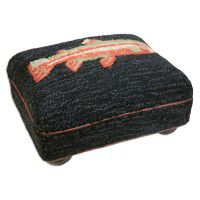 River Fish Footstool