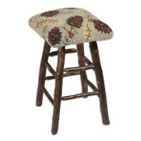 Northwoods Pine Cone Bar Stool