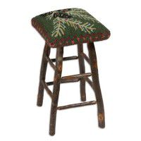 Diamond Pine Cone Bar Stool