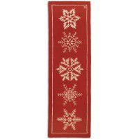 Winter Flakes Floor Runner