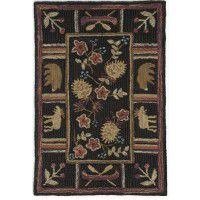 Night Moose Scatter Rug
