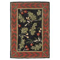 Oak Leaves Rug-2x3