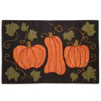 Pumpkin Patch Accent Rug