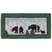 Birch Bears Wool Rug