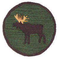 Wandering Moose Chair Pad Set