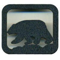 Black Bear Drawer Knob