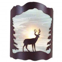 Deer and Trees Sconce