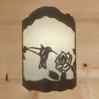 Hummingbird Sconce