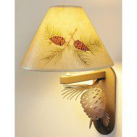 Pine Cone Wall Lamp
