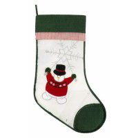 Winter Wonderland Green Stocking-CLEARANCE