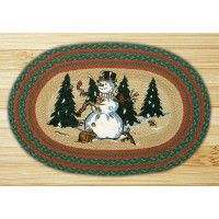 Winter Wonderland Jute Rug