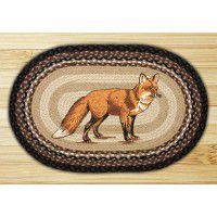 Fox Braided Rug