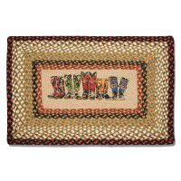 Western Boots Rectangle Rug