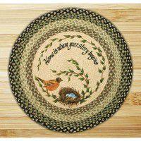 Round Robins Nest Jute Rug