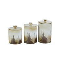 Clearwater Pines Canisters 3pcs set