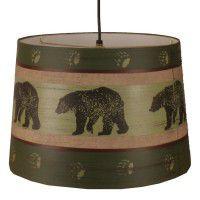 Bear Walk Pendant Light