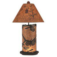 Ponderosa Pine Cone Table Lamp