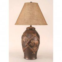 Rustic Wildlife Table Lamp