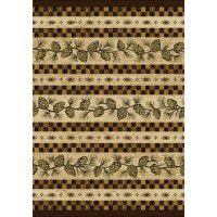 Folk Dance Pine Cone Area Rugs